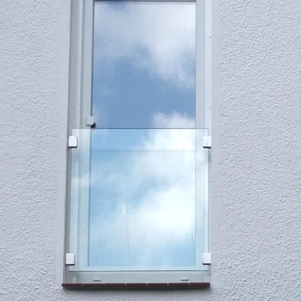 Glas-Fensterbrüstung, französicher Balkon aus Glas - Meitinger Glas ...