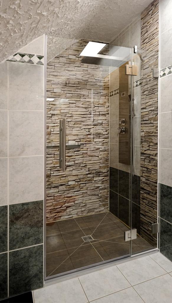 nischen dusche aus glas ma gerfertigt meitinger glas m nchen garching. Black Bedroom Furniture Sets. Home Design Ideas