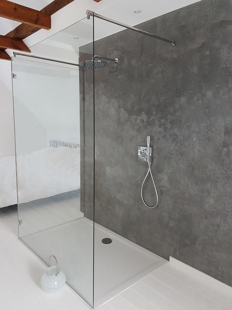 Walk-in-Dusche aus Glas - Maßgerfertigt - Meitinger Glas ...