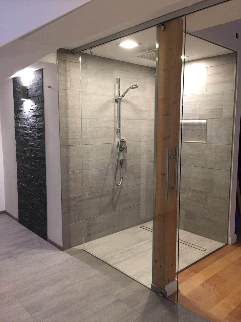 glas schiebet r outlet mit aluminiumbeschl gen meitinger glas m nchen garching. Black Bedroom Furniture Sets. Home Design Ideas