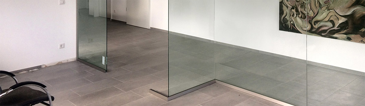 ma gefertigte trennw nde aus glas meitinger glas m nchen garching. Black Bedroom Furniture Sets. Home Design Ideas