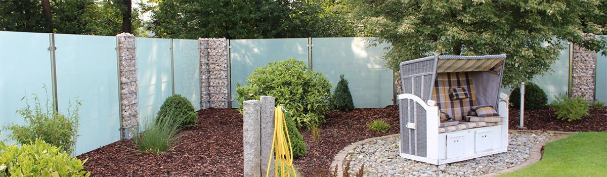 Windschutz und Sichtschutz aus Glas - Meitinger Glas München, Garching