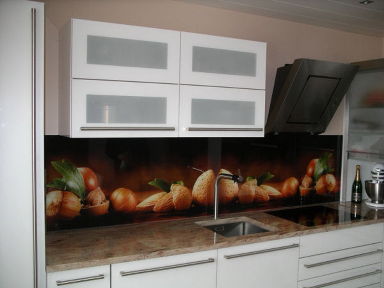 Küchenrückwand Glas München glasrückwand küche mit motiv küchenrückwand glas
